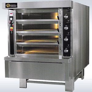 Deck oven 16 trays Italy - Lodgiudice