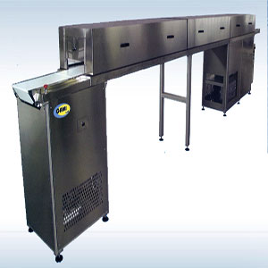 Cooling Line for Chocolate